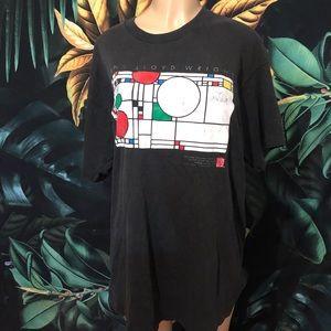 VINTAGE FRANK LLOYD WRIGHT T-SHIRT DRESS